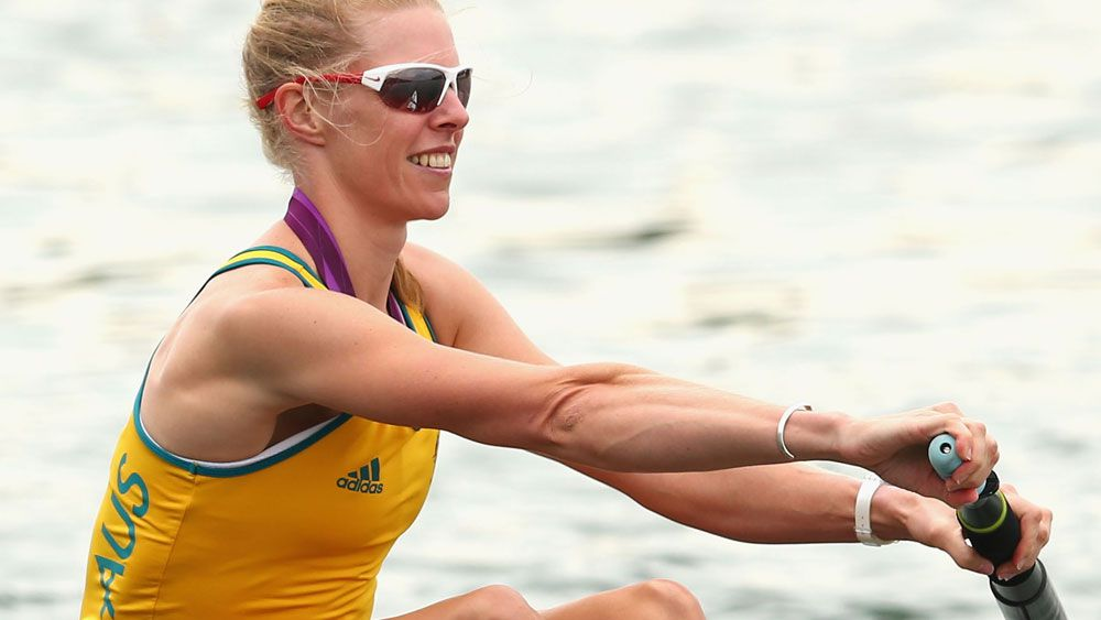 Sarah Tait competing in the London 2012 Games. (Getty Images)
