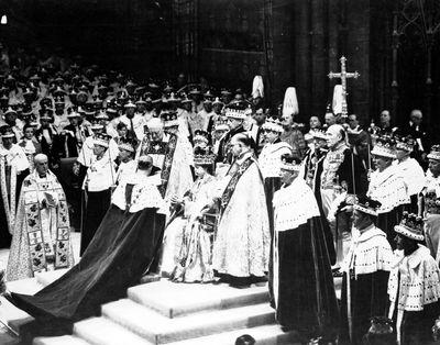 The Queen's coronation