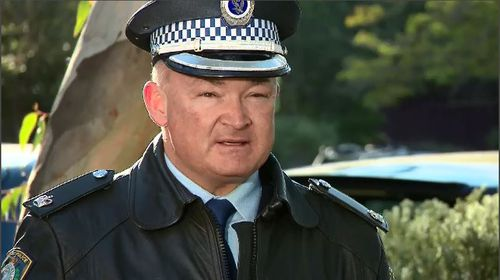 NSW Police Chief Phillip Brooks said the 'sad and tragic' incident comes as a reminder for parents and siblings of young drivers to make sure they know the risks on the road. Picture: 9NEWS.