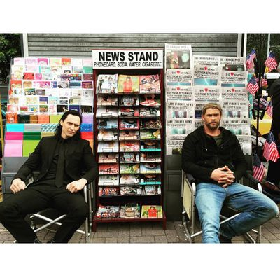 Thor and Loki, your average newspapermen.