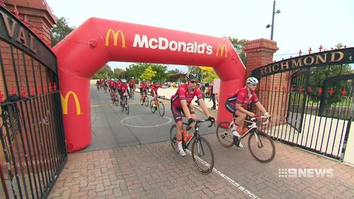 The Ride For Sick Kids has undergone a 1000km trip to raise money for sick kids.