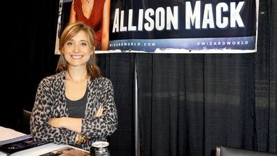 Allison Mack at Wizard World ComicCon in 2013.