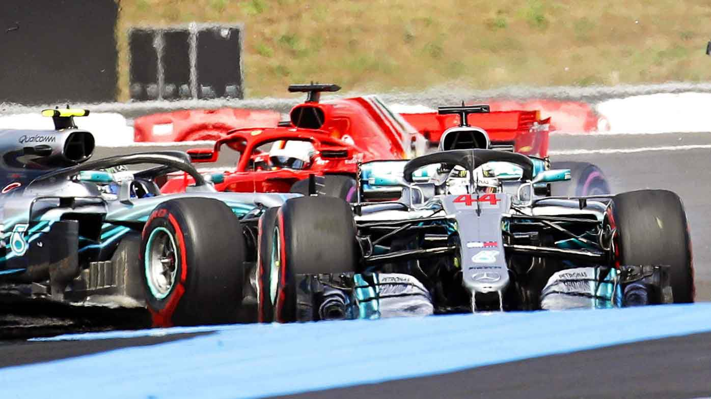 Mercedes' Lewis Hamilton wins in France to retake Formula One lead