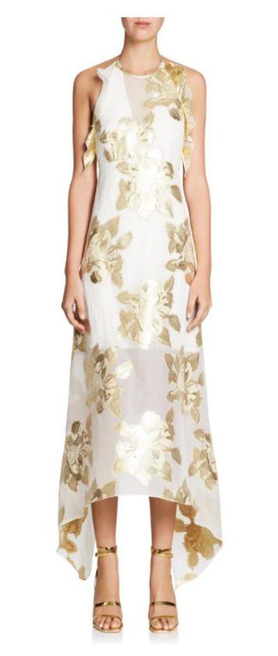 "<a href=""https://www.manningcartell.com.au/floral-alchemy-dress.html"" target=""_blank"">Manning Cartel Floral Alchemy Dress, $699.</a>"