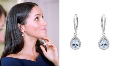Meghan's aquamarine earrings