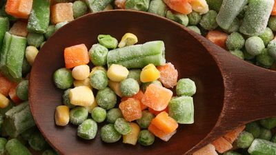 8. Frozen vegetables