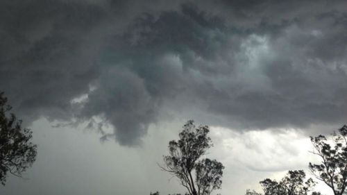 Storms are forecast for parts of Queensland and New South Wales on Christmas Day.