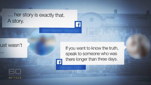 The college's own investigations have now substantiated some of the allegations. Graphic: 60 Minutes