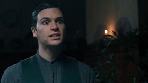 The fan film follows Tom Riddle's transformation into Voldemort. (Tryangle Films/Warner Bros)