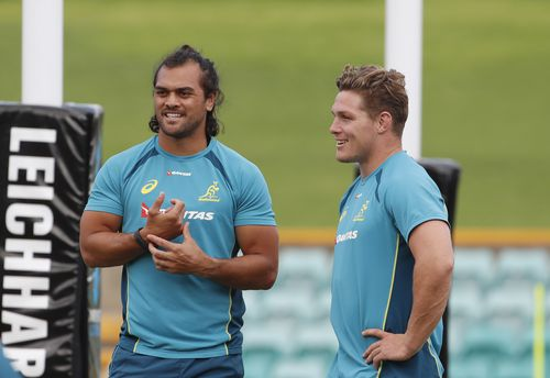Hunt made his Wallabies debut this year. (AAP)