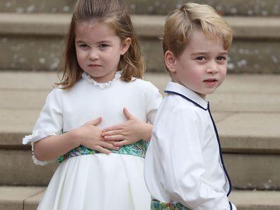 Princess Charlotte Prince George same school