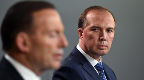 Prime Minister Tony Abbott and former health minister Peter Dutton. (AAP)
