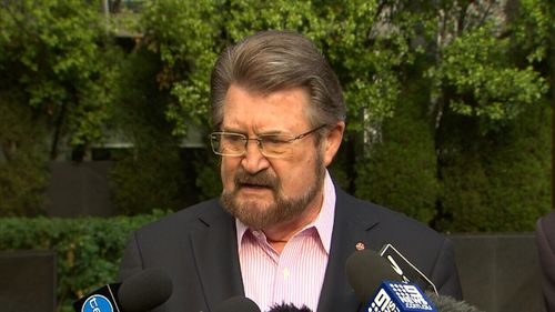 Senator Hinch this week declared he won't stop drinking despite falling from an Uber following two glasses of wine.
