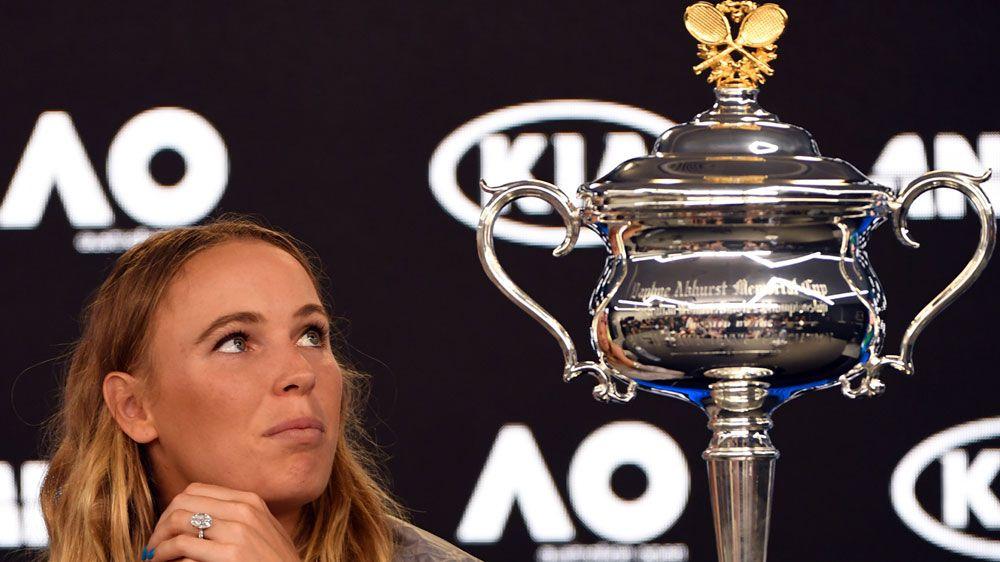 Crowd sings 'Sweet Caroline' as Wozniacki reveals retirement thoughts