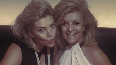 Rebecca Maddern with her mother Wendy.