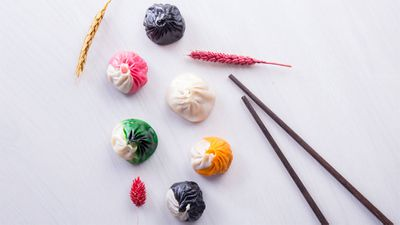Six colour soup dumplings, The Drunken Pot, Tsim Sha Tsui