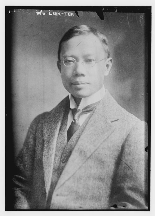 This photo taken sometime between 1910 and 1915 shows Dr. Wu Lien-teh, a Cambridge-educated Chinese physician who pioneered the use of masks during the Manchurian Plague of 1910/11. A modernizer of Chinese medicine, Wu's push to use masks is credited with saving the lives of doctors, nurses, patients and members of the public. (George Grantham Bain Collection/Library of Congress via AP)