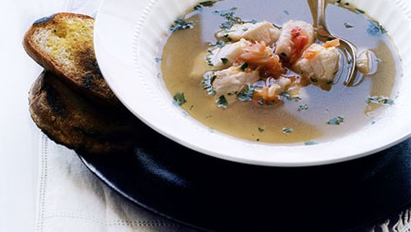 Fish soup (broeto)