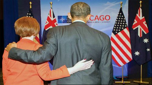 Julia Gillard said she had a close, warm relationship with US president Barack Obama. (9News)
