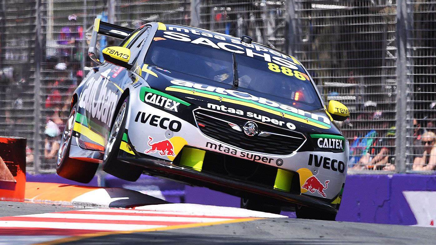 Lady luck shines on Lowndes at Gold Coast
