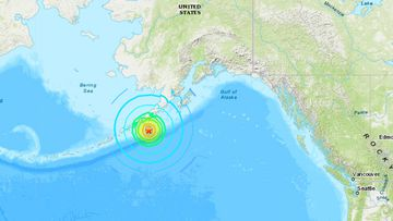 A major 7.4 magnitude earthquake was reported in Alaska today.