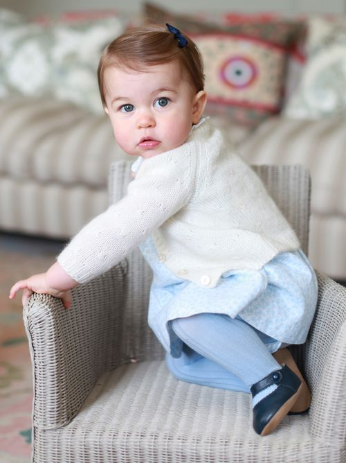 The images were shared by the royals' official Twitter account today. (Kensington Palace)