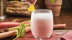 Warner's Distillery Rhubarb Gin sour