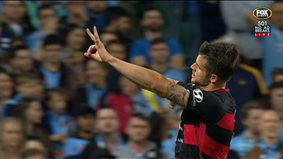 Sydney FC and Western Sydney Wanderers draw 2-2 in A-League derby