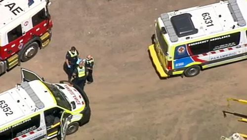 Man dies in suspected chemical explosion at Melbourne farm