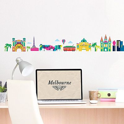 "<a href=""https://www.zanui.com.au/Melbourne-Cartoon-Skyline-Wall-Decal-127088.html?wt_af=au.affiliate.linkshare.deeplink.publisher.ad&utm_source=linkshare&utm_medium=affiliate&utm_content=publisher&utm_campaign=deeplink&siteID=4w9UJiJpWAc-5EtyLkvXj58R_qO2BNJzOA"" target=""_blank"">Little Sticker Boy Melbourne Wall Decal, $69.95.</a>"