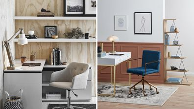 Stylists give their tips and tricks for an inspiring home office