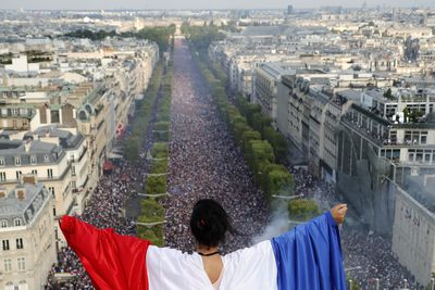 French flying high