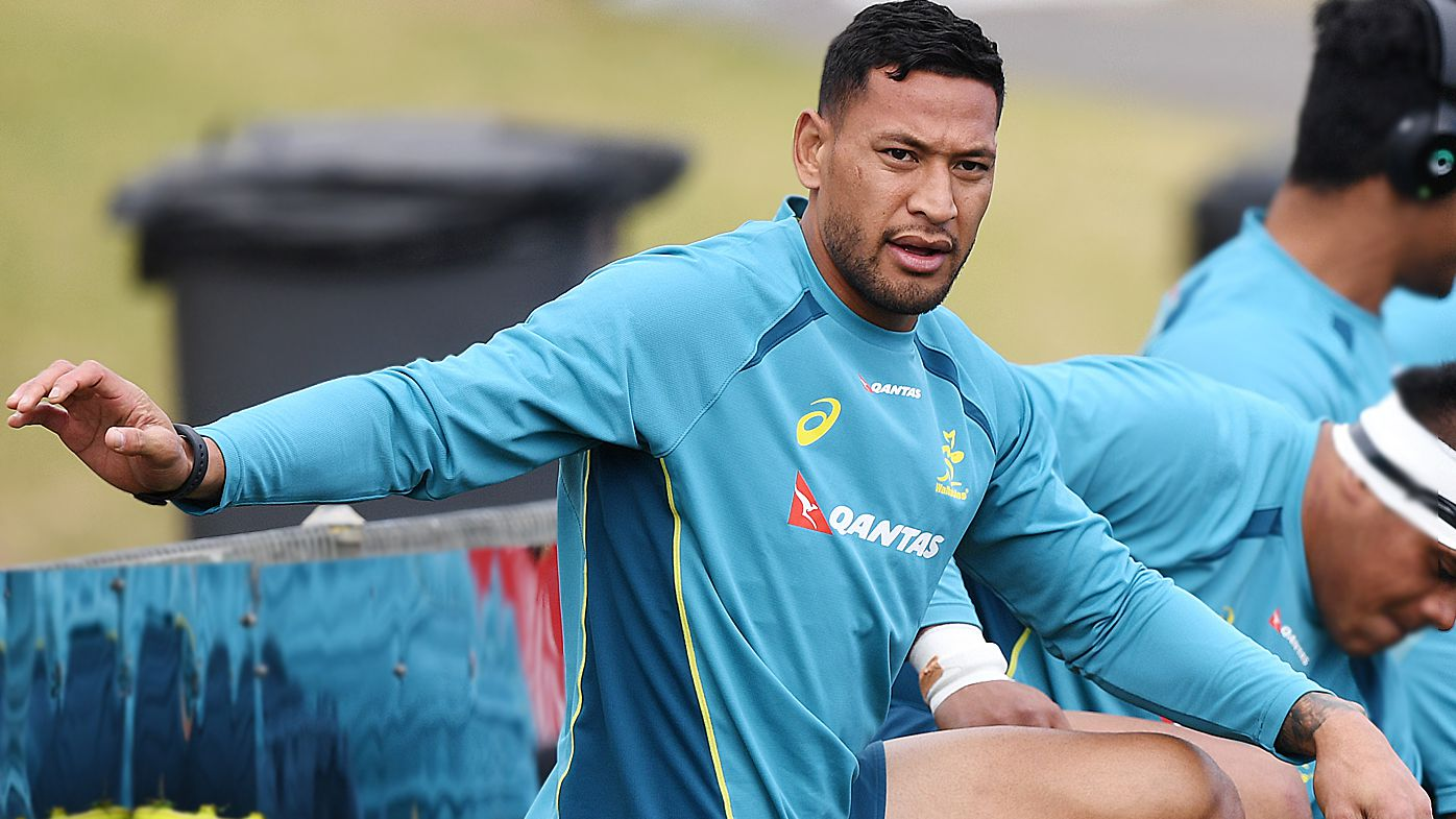 Rugby Australia says Israel Folau understands social media comments were 'disrespectful'