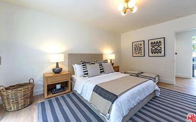 Plenty of bedrooms to accommodate the couple's teenage children.