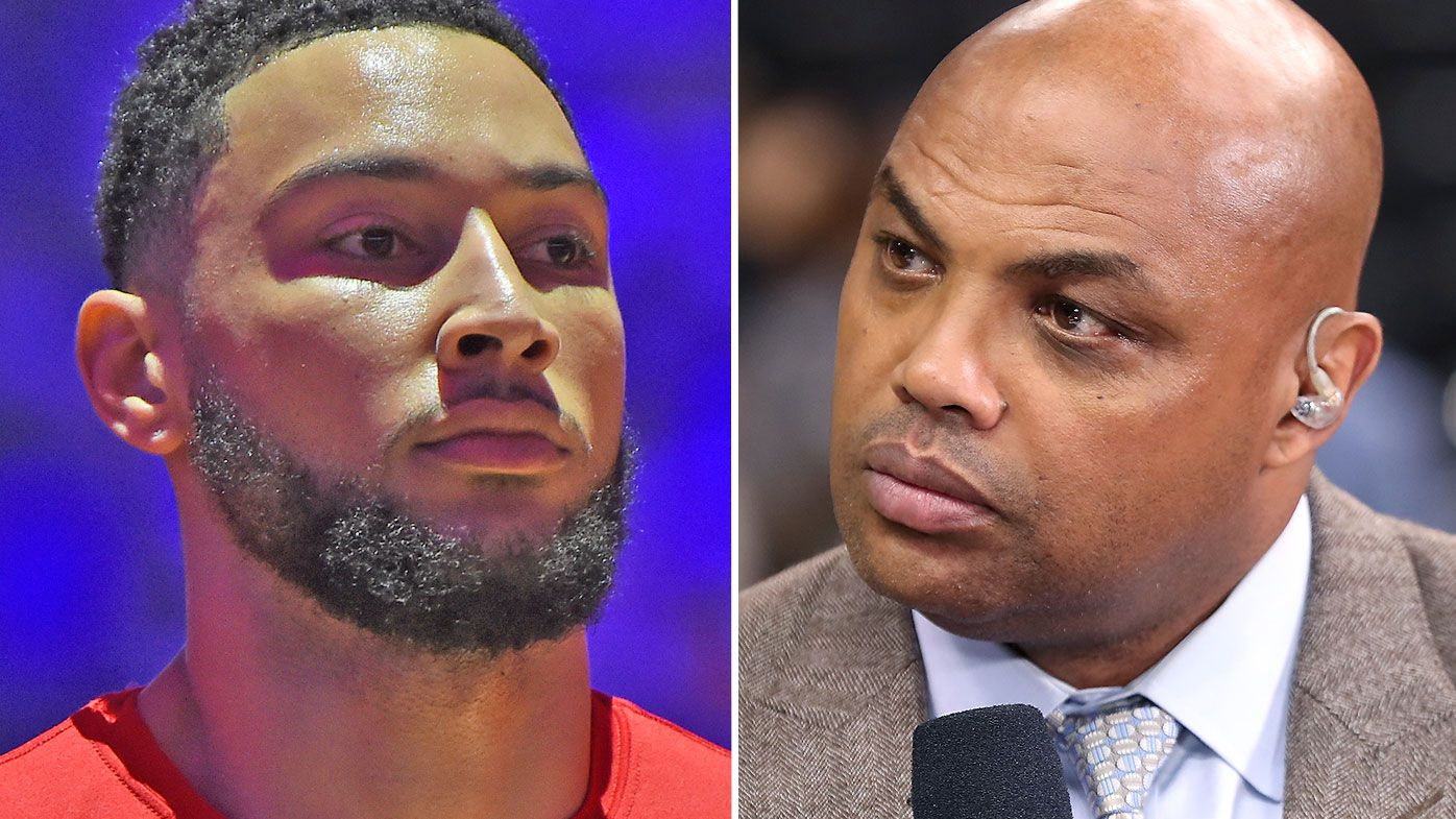 Ben Simmons and Charles Barkley