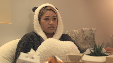 Hana Kimura on Terrace House