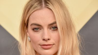Margot Robbie's messy hair day