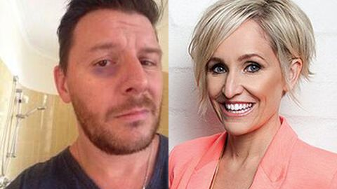 Fifi Box sings 'Wrecking Ball' apology to My Kitchen Rules' Manu Feildel after black-eye incident