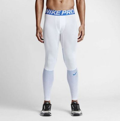 <strong>Nike Pro Hypercool Compression Tights (White)</strong>