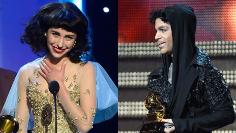 Watch: Kimbra freaks out meeting Prince at Grammys