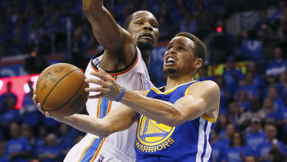 Warriors take NBA playoff series to game 7 - Nine Wide ...
