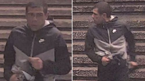 NSW Police would like to speak to this man in relation to a one-punch attack in Sydney.