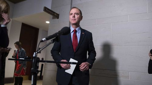 Adam Schiff is a frequent target of Donald Trump's rage.