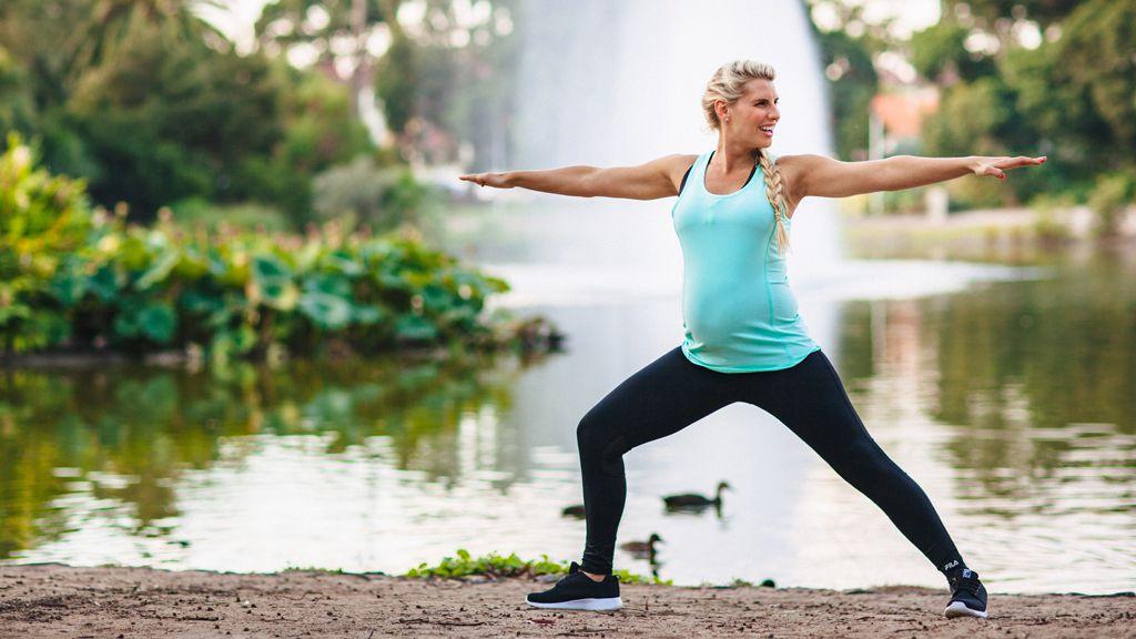 Tiffiny Hall fitness pregnancy