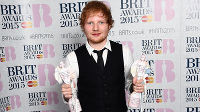 Ed Sheeran won the Best British Male Solo Artist and Album Of The Year. (Getty)