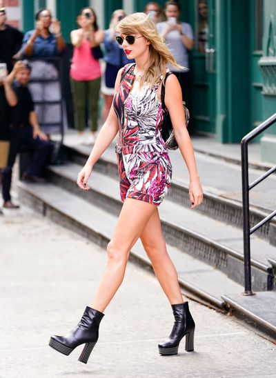 Taylor Swift in New York on July 17, 2018