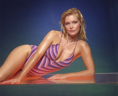 Actress Carol Lynley poses for a portrait in 1981