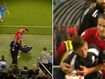 What was he thinking? Soccer star pushes over ball boy