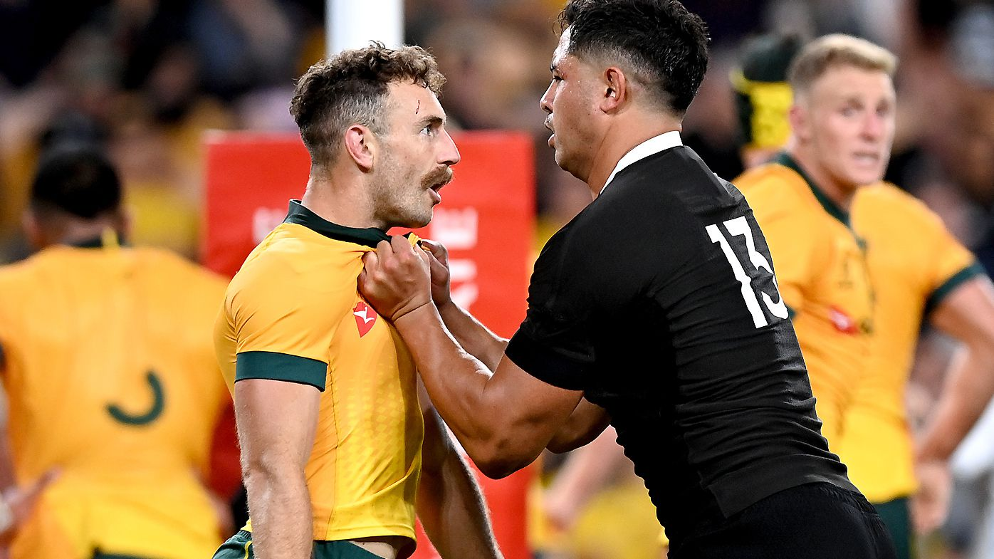 Wallabies coach Dave Rennie says it's 'hard to argue' against red cards