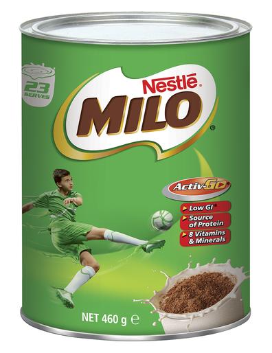 Tin of Milo